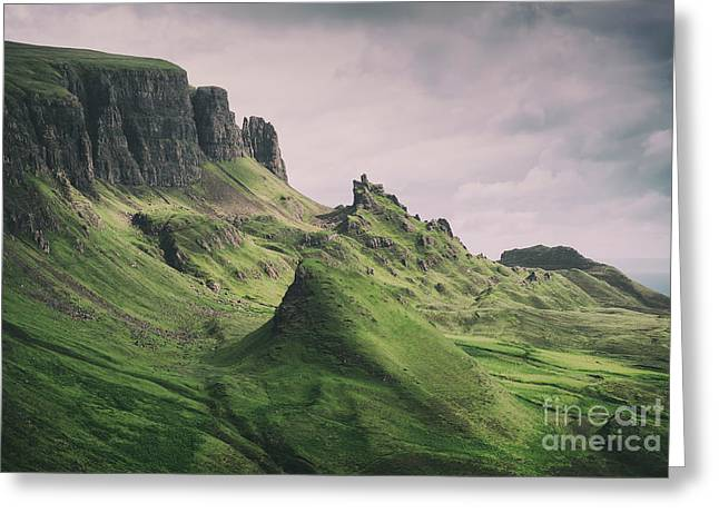 Quiraing Landscape 3 Greeting Card