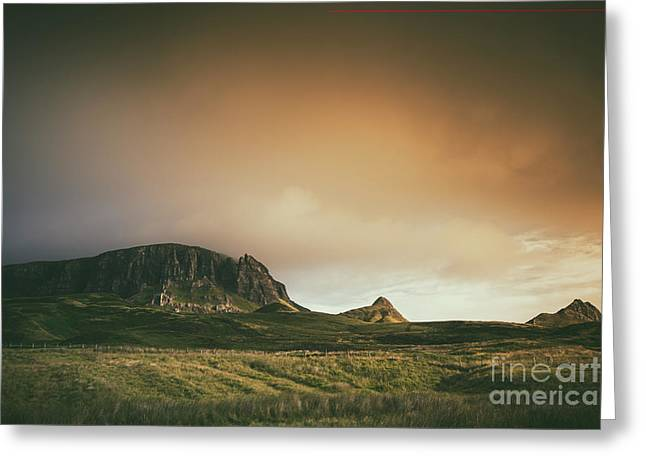 Quiraing Landscape 4 Greeting Card