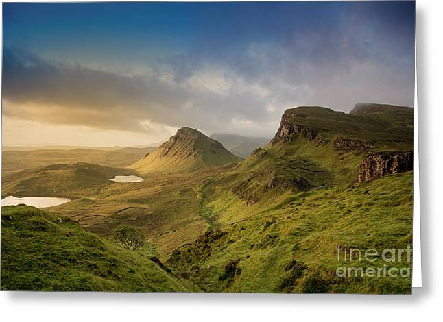 Quiraing Landscape 5 Greeting Card