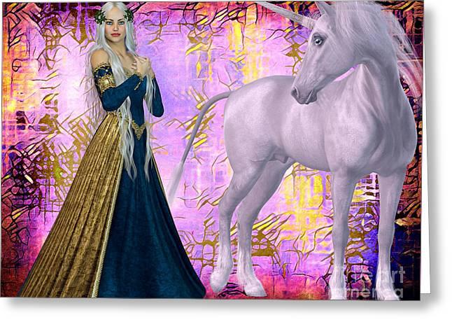 Quod Magicae Spectro Greeting Card