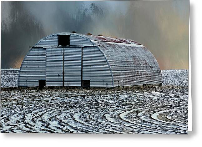 Quonset Hut Greeting Card