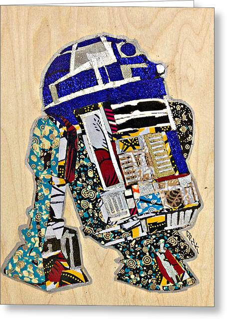 R2-d2 Star Wars Afrofuturist Collection Greeting Card