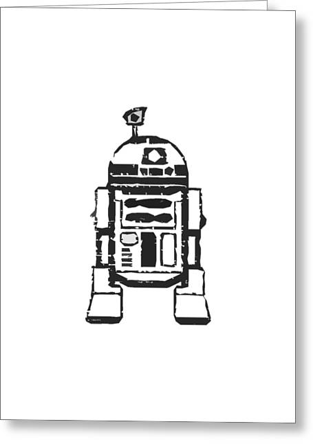 R2d2 Star Wars Robot Greeting Card