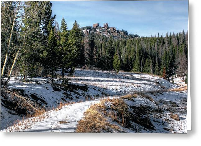 Rabbit Ears Pass Greeting Card by Jim Hill