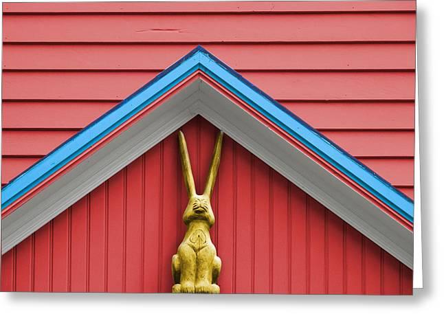 Rabbit Ears Greeting Card