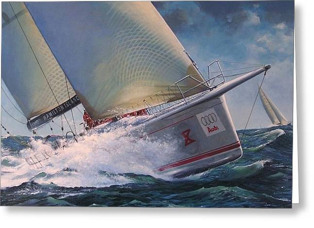 Race To The Finish - Wild Oats X Greeting Card