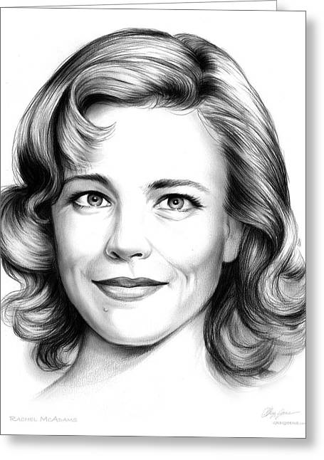 Rachel Mcadams Greeting Card
