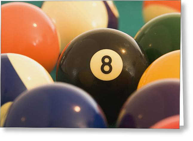 8 ball greeting cards page 13 of 13 fine art america racked eigth ball greeting card m4hsunfo