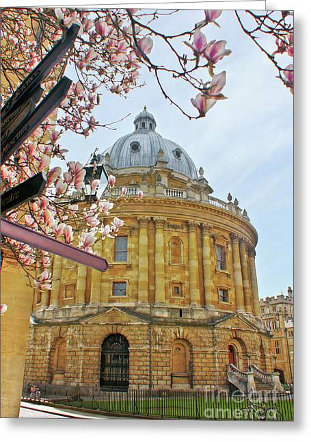 Radcliffe Camera Bodleian Library Oxford  Greeting Card