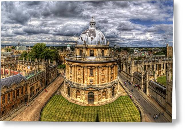 Radcliffe Camera Panorama Greeting Card