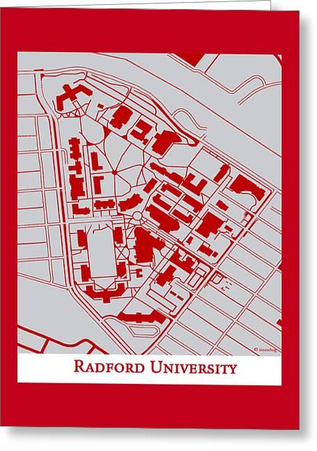 Radford University Campus Greeting Card