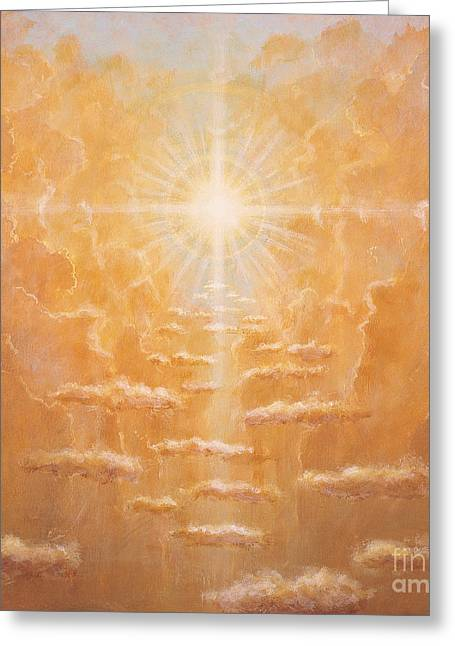 Sun Ray Greeting Cards - Radiance  Greeting Card by Simon Cook