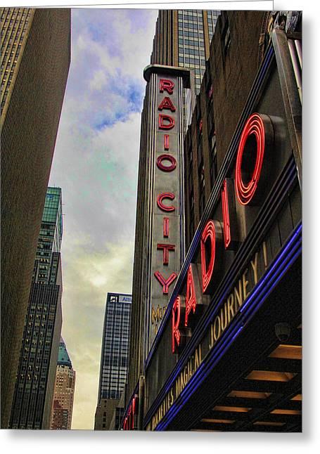 Radio City Ny Greeting Card