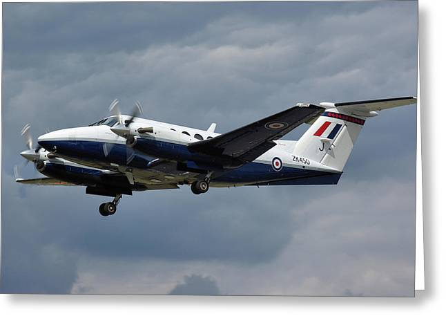 Raf Beech King Air 200  Greeting Card