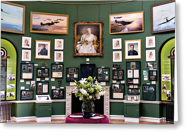 Greeting Card featuring the photograph Raf Bentley Priory by Alan Toepfer