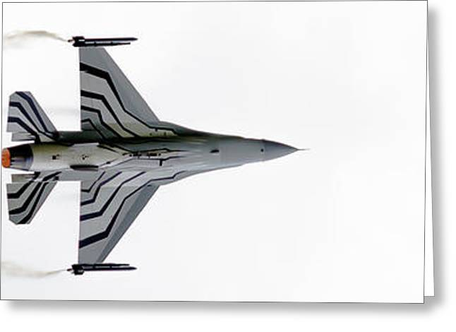 Raf Scampton 2017 - F-16 Fighting Falcon On White Greeting Card