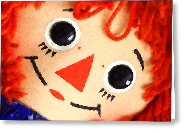 Raggedy Ann Greeting Card