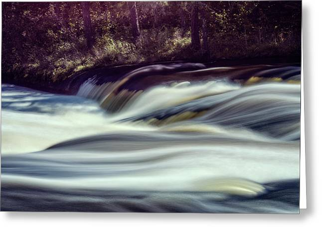 Raging River Greeting Card