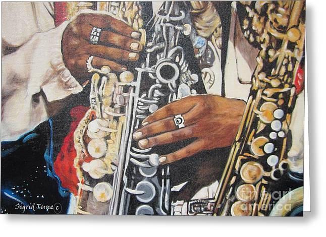 Rahsaan Roland Kirk- Jazz Greeting Card