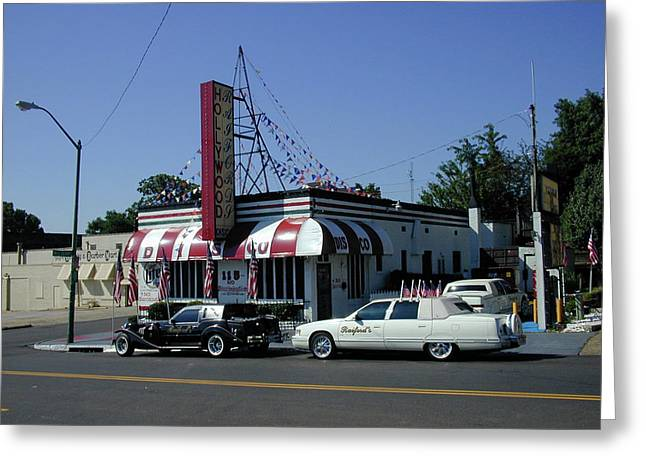 Greeting Card featuring the photograph Raifords Disco Memphis A by Mark Czerniec