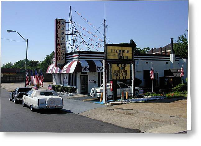 Greeting Card featuring the photograph Raifords Disco Memphis B by Mark Czerniec
