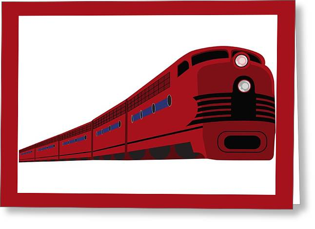 Rail Greeting Card by Now