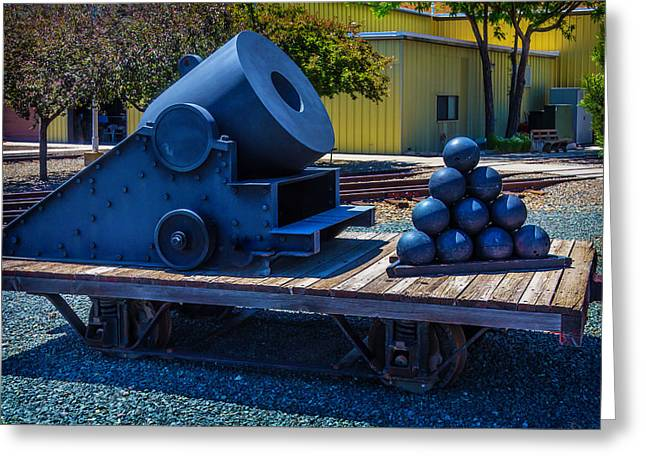 Railroad Mortar Greeting Card