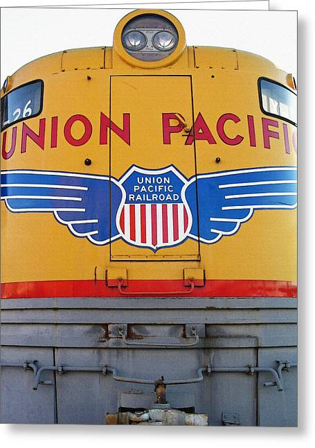 Railroad Museum 1 Greeting Card by Steve Ohlsen