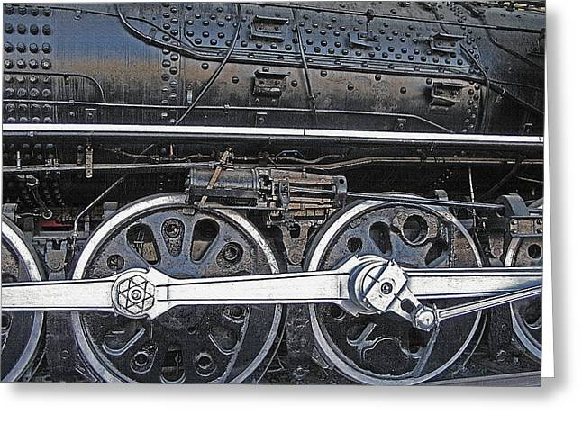 Railroad Museum 2 Greeting Card by Steve Ohlsen