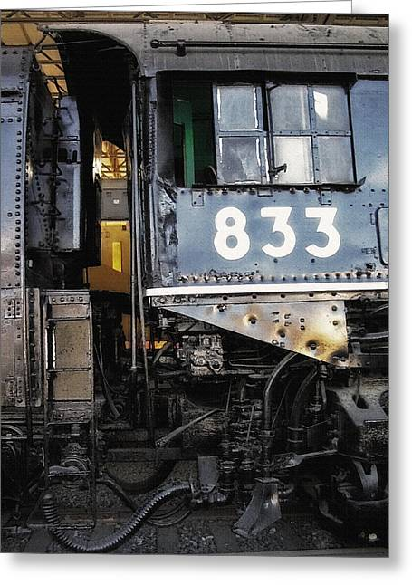 Railroad Museum 3 Greeting Card by Steve Ohlsen