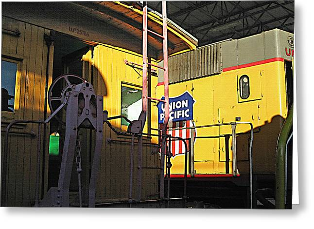 Railroad Museum 5 Greeting Card by Steve Ohlsen
