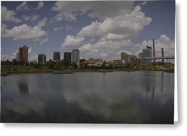 Railroad Park View Greeting Card
