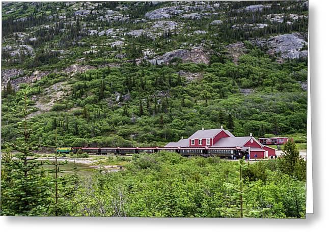 Railroad To The Yukon Greeting Card