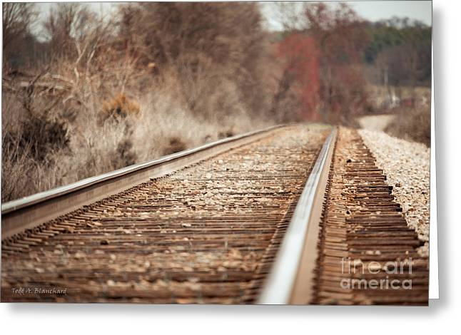 Rails Greeting Card