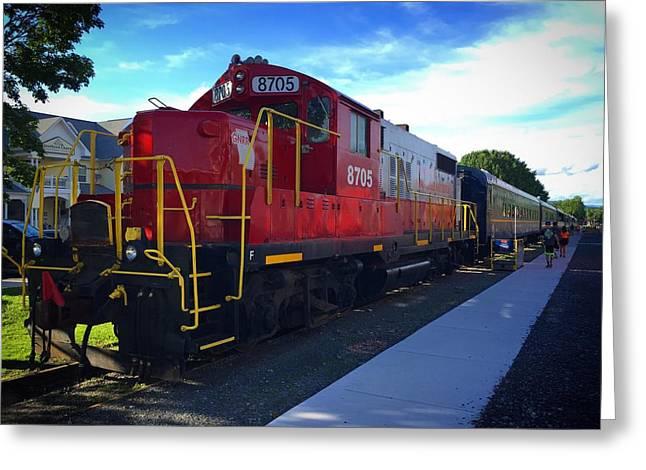 Blue Ridge Railway Greeting Card