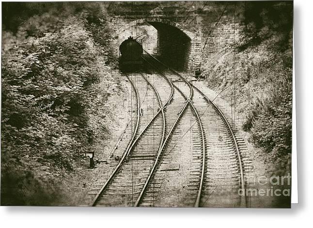 Railway - Vintage Style Greeting Card