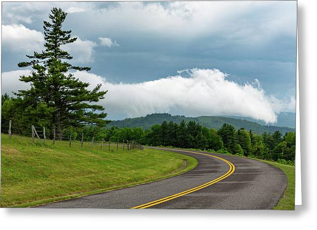 Rain Ahead Greeting Card by Jim Neal