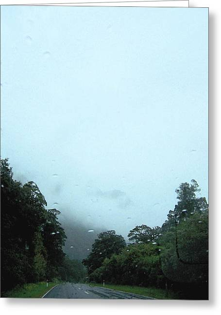 Rain Forest Rain Greeting Card