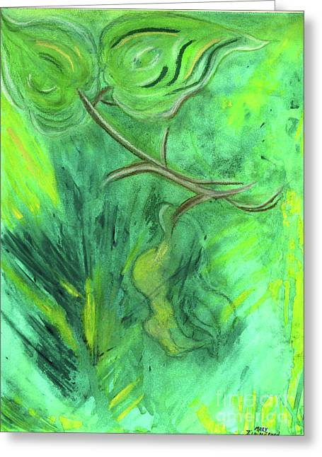 Rain Forest Revisited Greeting Card