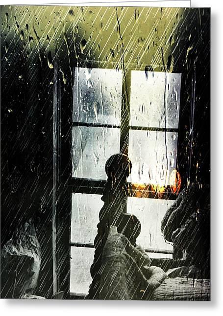 Rain In My Heart Greeting Card