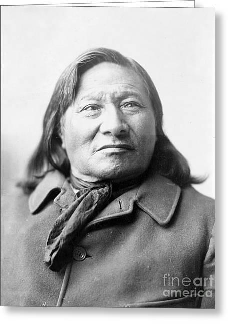 Rain-in-the-face, Lakota Indian War Greeting Card