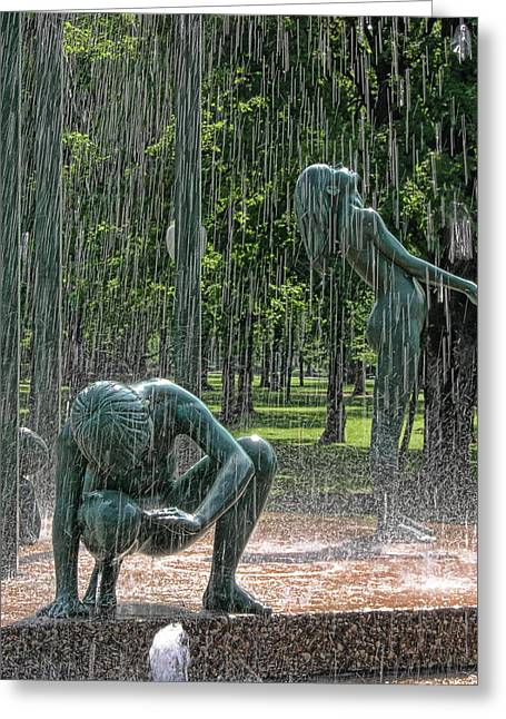 Rain Greeting Card by Joel Witmeyer