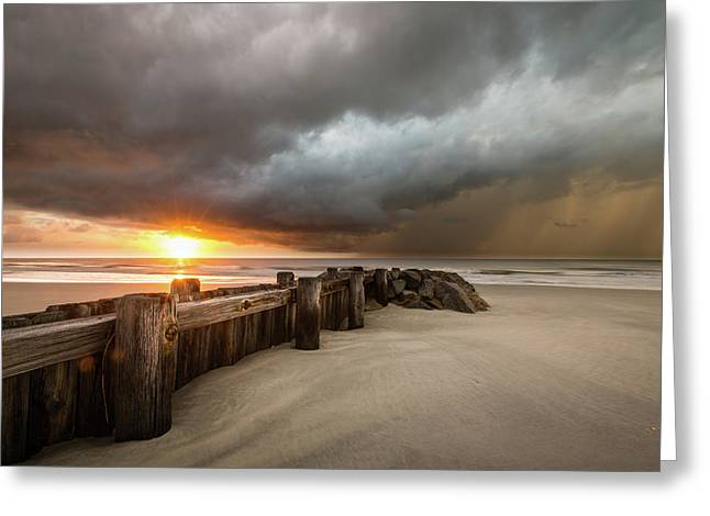 New Beginnings, Pawleys Island Sunrise Greeting Card