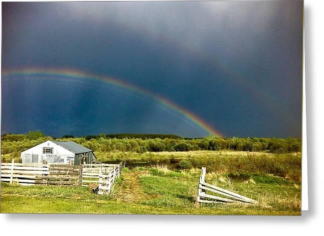 Rainbow Greeting Card by Brian Sereda