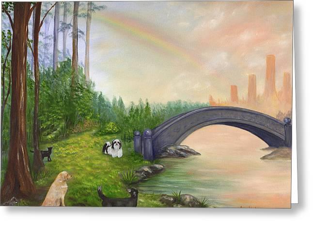 Rainbow Bridge Greeting Card