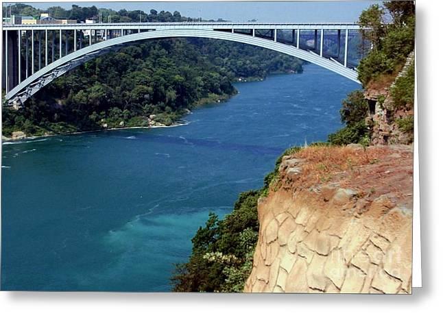 Rainbow Bridge Greeting Card by Kathleen Struckle