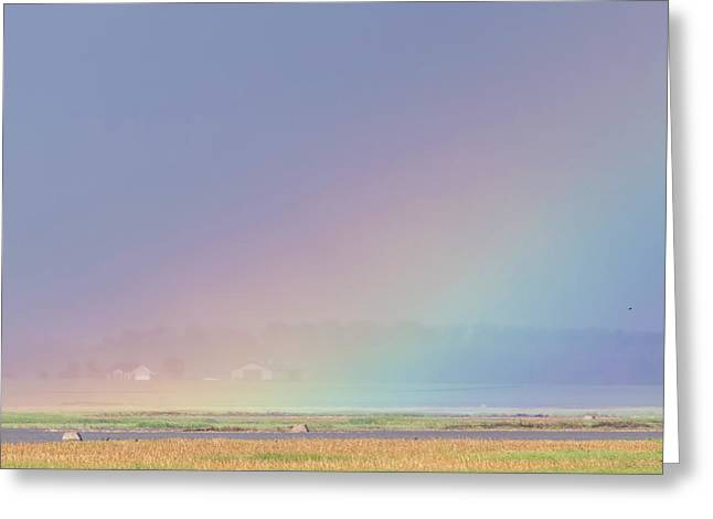 Rainbow Close Up Greeting Card
