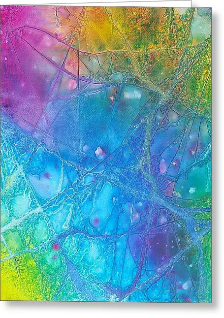 Rainbow Greeting Card by Artists With Autism Inc