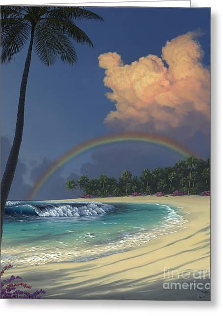 Rainbow Deams Greeting Card