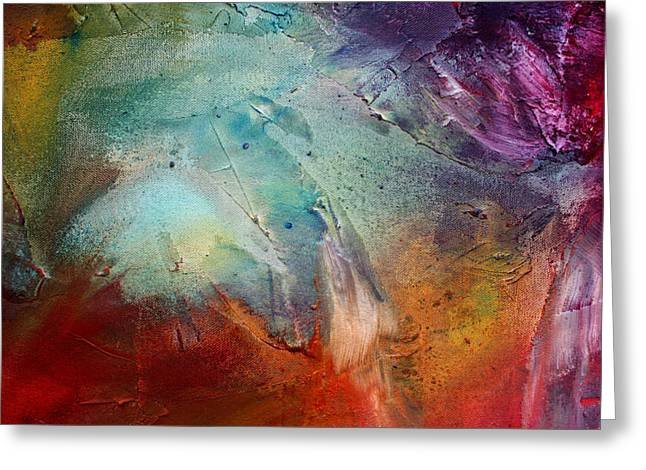 Licensor Greeting Cards - Rainbow Dreams III by MADART Greeting Card by Megan Duncanson